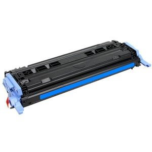 Compatible HP 124A (Q6001A) Cyan toner cartridge - 2,000 pages