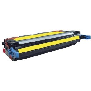 Compatible HP 502A (Q6472A) Yellow toner cartridge - 4,000 pages
