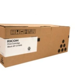 Genuine Ricoh/Lanier 406483 Black toner cartridge - 6,500 pages