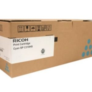 Genuine Ricoh/Lanier 406484 Cyan toner cartridge - 6,000 pages