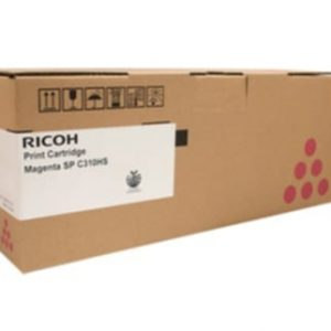 Genuine Ricoh/Lanier 406485 Magenta toner cartridge - 6,000 pages
