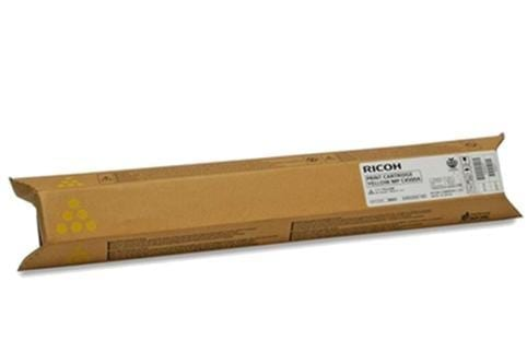 Genuine RicohLanier 841874 (841866) Yellow toner cartridge - 22,500 pages