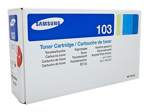 Genuine Samsung MLT-D103L High Yield toner cartridge - 2,500 pages