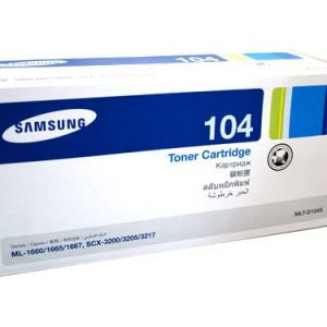 Genuine Samsung MLT-D104S toner cartridge - 1,500 pages
