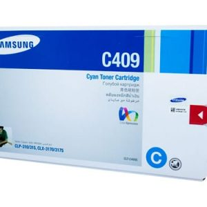 Genuine Samsung CLT-C409S Cyan toner cartridge - 1,000 pages