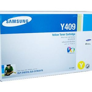 Genuine Samsung CLT-Y409S Yellow toner cartridge - 1,000 pages