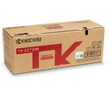 Genuine Kyocera TK-5274M Magenta toner cartridge - 6,000 pages