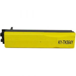 Compatible Kyocera TK-564 Yellow toner cartridge - 10,000 pages