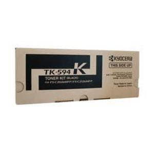 Genuine Kyocera TK-594K Black toner cartridge - 7,000 pages