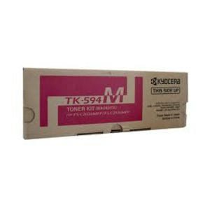 Genuine Kyocera TK-594M Magenta toner cartridge - 5,000 pages