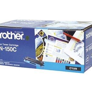 Genuine Brother TN-150 Cyan Low Yield toner cartridge - 1,500 pages