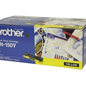 Genuine Brother TN-150 Yellow Low Yield toner cartridge - 1,500 pages