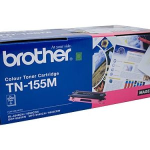 Genuine Brother TN-155 Magenta High Yield toner cartridge - 4,000 pages