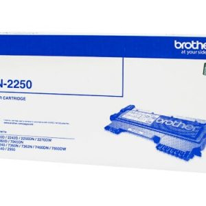 Genuine Brother TN-2250 toner cartridge - 2,600 pages