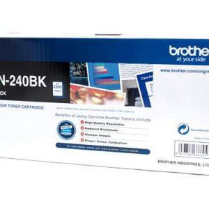 Genuine Brother TN-240 Black toner cartridge - 2,200 pages