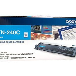 Genuine Brother TN-240 Cyan toner cartridge - 1,400 pages