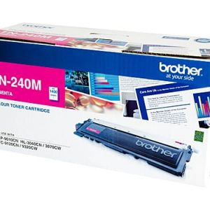 Genuine Brother TN-240 Magenta toner cartridge - 1,400 pages