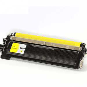 Compatible Brother TN-240 Yellow toner cartridge - 1,400 pages