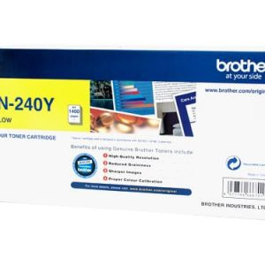 Genuine Brother TN-240 Yellow toner cartridge - 1,400 pages