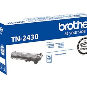Genuine Brother TN-2430 toner cartridge - 1,200 pages