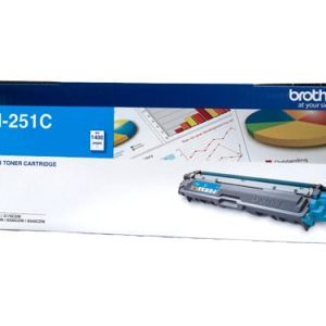 Genuine Brother TN-251 Cyan toner cartridge - 1,400 pages