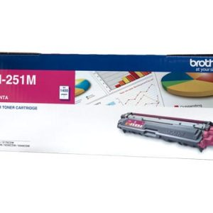 Genuine Brother TN-251 Magenta toner cartridge - 1,400 pages