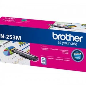 Genuine Brother TN-253 Magenta Low Yield toner cartridge - 1,300 pages