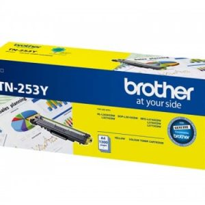 Genuine Brother TN-253 Yellow Low Yield toner cartridge - 1,300 pages