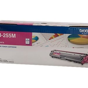 Genuine Brother TN-255 Magenta toner cartridge - 2,200 pages