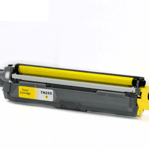 Compatible Brother TN-255 Yellow toner cartridge - 2,200 pages