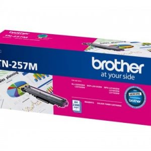 Genuine Brother TN-257 Magenta toner cartridge - 2,300 pages