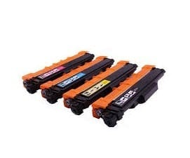 Compatible Brother TN-257 Yellow toner cartridge - 2,300 pages
