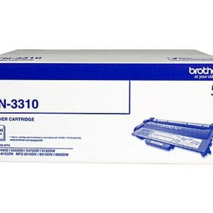 Genuine Brother TN-3310 Black toner cartridge - 3,000 pages