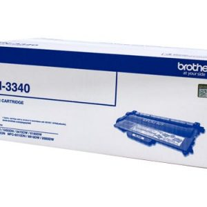 Genuine Brother TN-3340 Black toner cartridge - 8,000 pages