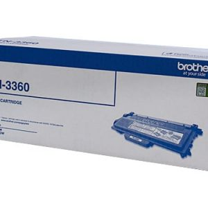 Genuine Brother TN-3360 Black toner cartridge - 12,000 pages