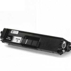 Compatible Brother TN-340 Black toner cartridge - 4,000 pages