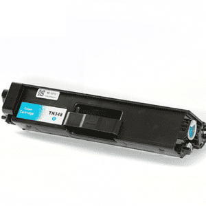 Compatible Brother TN-340 Cyan toner cartridge - 3,500 pages