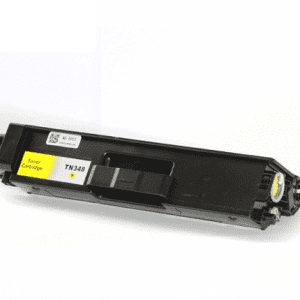 Compatible Brother TN-340 Yellow toner cartridge - 3,500 pages
