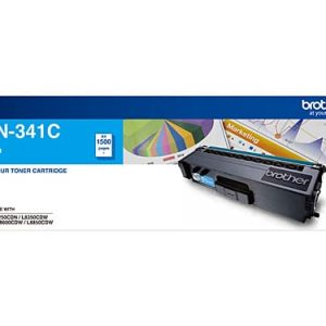 Genuine Brother TN-341 Cyan toner cartridge - 1,500 pages