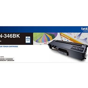 Genuine Brother TN-346 Black toner cartridge - 4,000 pages