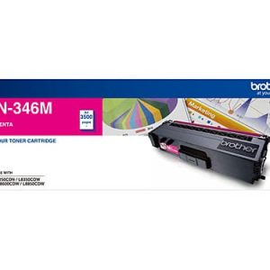 Genuine Brother TN-346 Magenta toner cartridge - 3,500 pages