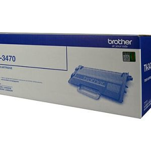 Genuine Brother TN-3470 Black toner cartridge - 12,000 pages