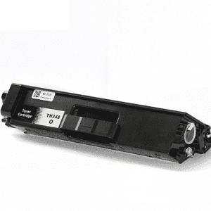 Compatible Brother TN-348 Black toner cartridge - 6,000 pages