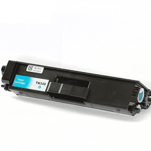 Compatible Brother TN-348 Cyan toner cartridge - 6,000 pages