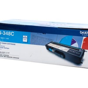 Genuine Brother TN-348 Cyan toner cartridge - 6,000 pages