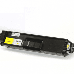 Compatible Brother TN-348 Yellow toner cartridge - 6,000 pages