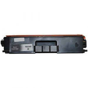 Compatible Brother TN-349 Black toner cartridge - 6,000 pages