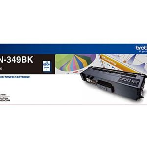 Genuine Brother TN-349 Black toner cartridge - 6,000 pages