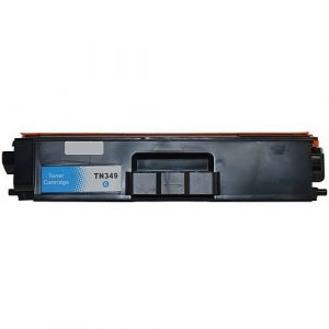 Compatible Brother TN-349 Cyan toner cartridge - 6,000 pages