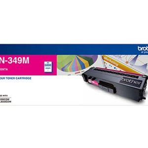 Genuine Brother TN-349 Magenta toner cartridge - 6,000 pages